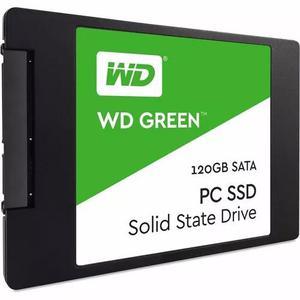 Hd Ssd 120gb Wd Western Green Sata 3 2,5 Pol Pc Note Wind