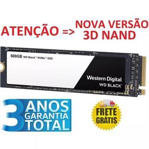 Ssd Wd Black 500gb M.2 Pcie Nova Versão 3d Nand Wds500g2x0c