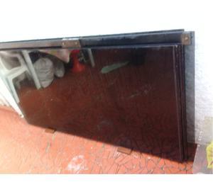 2 Portas de Vidro Fume 4 Folhas 10mm Perfeito Estado