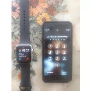 Iphone 6/128gb+relógio Watch, Serie 1