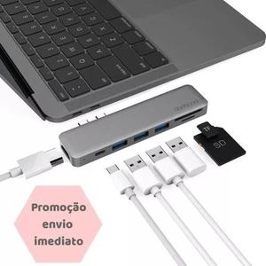Adaptador Hub Macbook Pro Usb Tipo C 4k Hdmi Thunderbolt 3