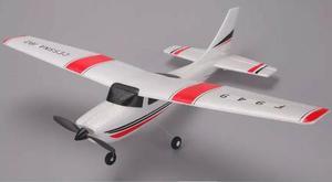 Avião de controle remoto elétrico cessna 182 completo novo
