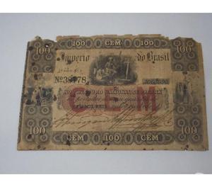 COMPRO NOTAS ANTIGAS DE RÉIS DE 1833 A 1920 PAGO ATÉ R$200