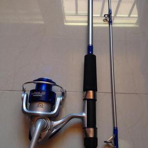 Conjunto de Pesca Vara + Molinete Excelente para pesqueiro