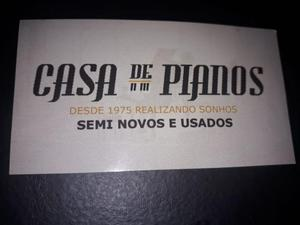 Pianos Nas Cores Black = Mogno = Imbuia Fritz Dobbert Tops