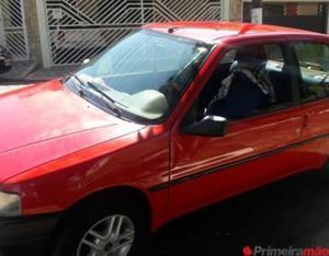 Peugeot, ano 95, vermelho, 2 portas, todo revisado em ótimo