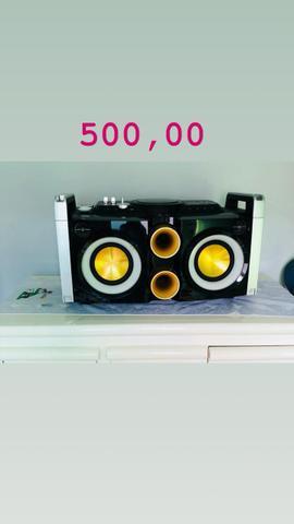 Mini System Hi-Fi Philips Party Box FWPX/78 com MP3,