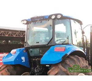 Trator New Holland T6 110 4x4 (Com Conjunto de Concha!)