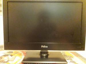 Tv e monitor em um só. semi nova philco completa