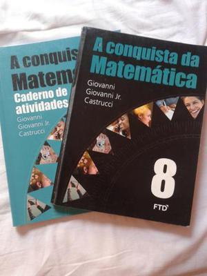A conquista da matemática - livro e caderno de atividades -