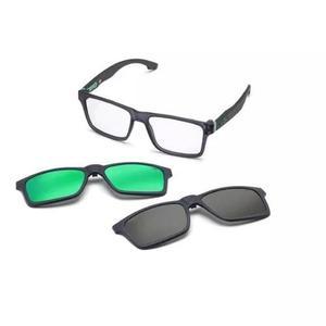 ce8eff21f4a74 Armação oculos grau mormaii swap m6057d6356 clip on