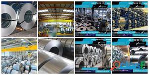 Dhabi Steel Bobina de Aço Galvalume Galvanizada