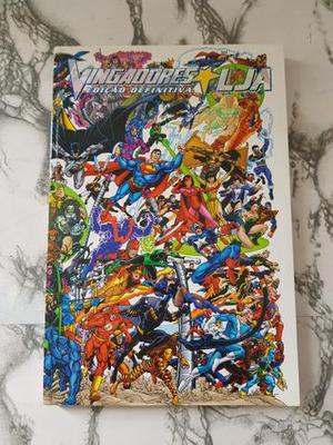 HQ Vingadores vs. Liga da Justiça Edição Definitiva