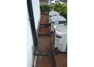 Instalação de ar condicionado, manutenção,