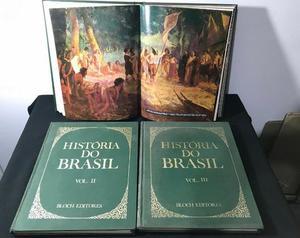 Livro - História Do Brasil Bloch Editores Volume 1 2 E 3.