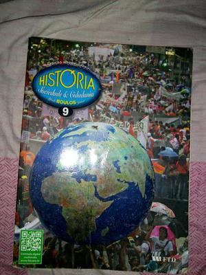 Livro de História Sociedade e cidadania 9° ano