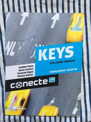 Livro de inglês Conecte Keys, parte 3