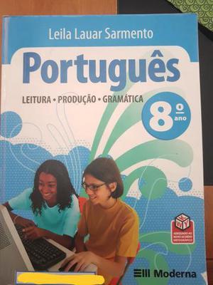Livro didático de português 8ºano