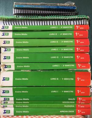 Livros Farias Brito 1o ano ensino médio
