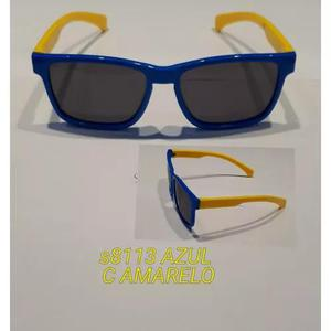Oculos De Sol Infantil Masculino Aste Flexivel
