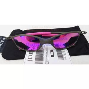 Oculos Juliet Xmetal Lente Rosa Pink Polarizada U.s.a