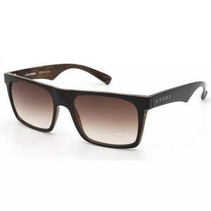 Oculos Sol Evoke Evk 22 Wd01 Preto Marrom Madeira Marrom Deg