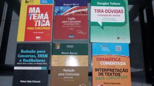 Pacotão de Livros para Concurseiros e Vestibulandos