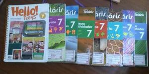 Projeto Telaris 7 Ano - Livros Usados