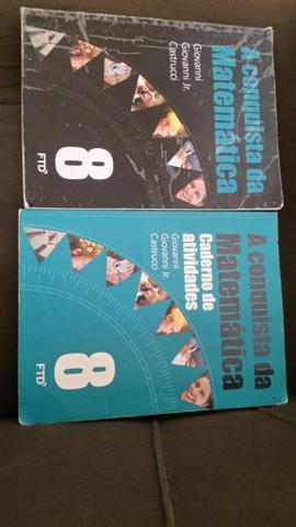 Vendo livros para didáticos do 8 ano