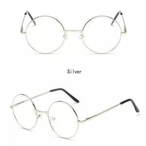9a4db108c9d40 Armação 4,5cm redonda p  óculos de grau retro vintage