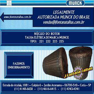 Núcleo do Rotor para Talhas Munck 1141486658 J Fontana