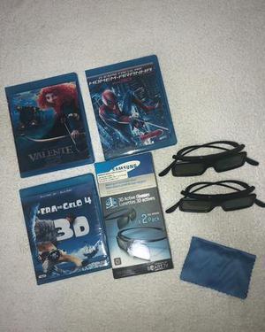 Caixa com 2 óculos 3d samsung ssg gb   Posot Class d5a5a21ae5