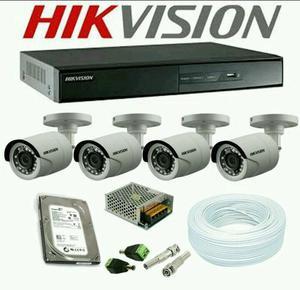 Promo kit 4 câmeras turbo HD acesso celular