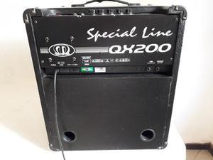 Cubo amplificador Meteoro QX200 Preto