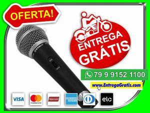 Facil- Microfone Profissional M58 + Cabo-Estar