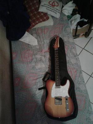 Guitarra Seizi Telecaster + Capa + Pedaleira V-Amp 2