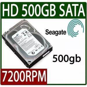 Hd Desktop 500gb 3.5 Sata3 7200rpm Seagate Pc 3gbs Lacrado