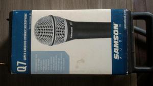 Microfone Samson Q7 (não aceito trocas)