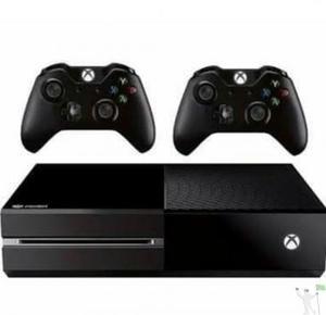 Xbox One 500Gb Com Dois Controles **Não tem Jogos** SÓ