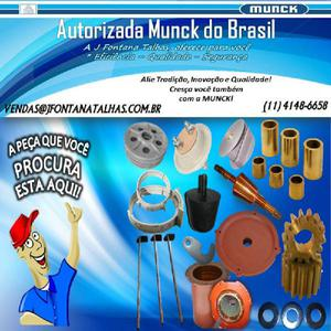 Micro Motor completo Talha Munck 1141486658 Autorizada Munck