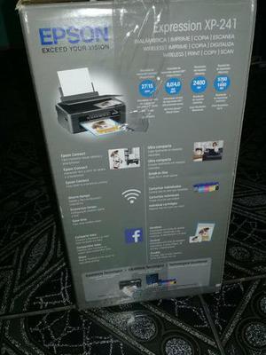 Impressora Epson nova na caixa com nota fiscal