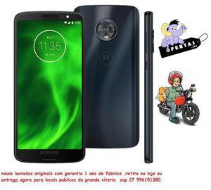 Motorola Moto G6 XT Índigo com 32GB, Tela de 5.7'',
