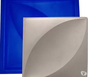 Kit de formas pra produção de placa de gesso 3x cartão