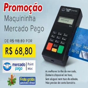 Mquininha Minizinha Mercado Pago Promoção...