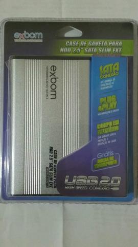Case pra HD de notebook