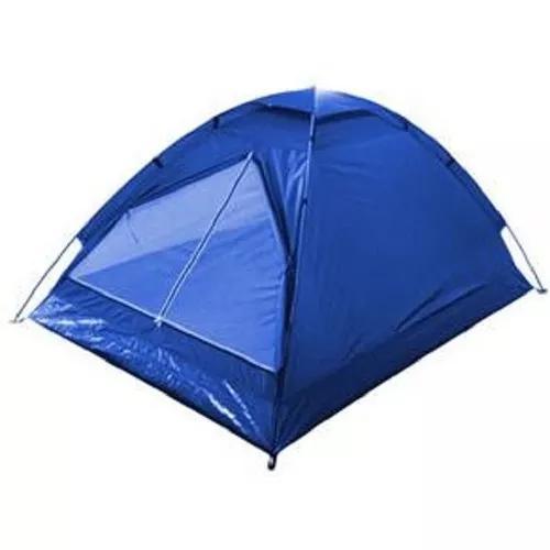Barraca De Camping Iglu Para 2 Pessoas C/ Bolsa 120x200x95cm