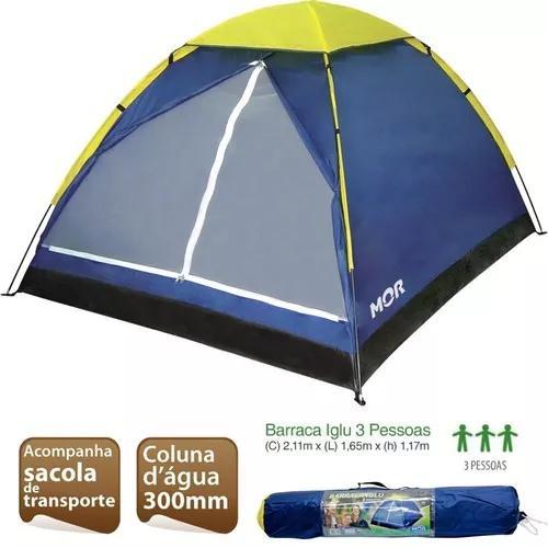 Barraca Iglu 3 Pessoas Camping Praia Mor