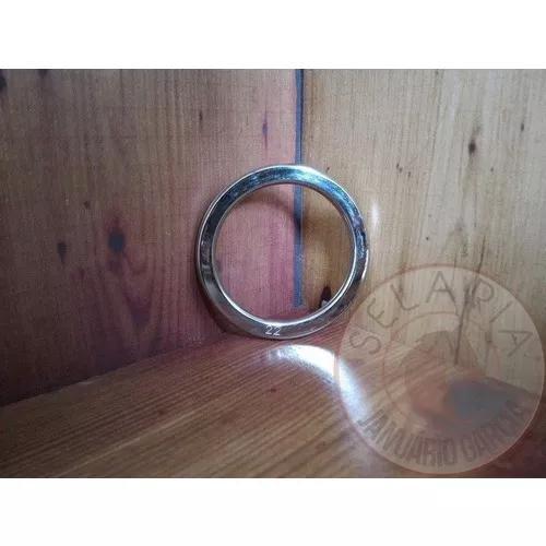 Argola Inox N 22 Chata 53mm Interno Por 68mm Externo