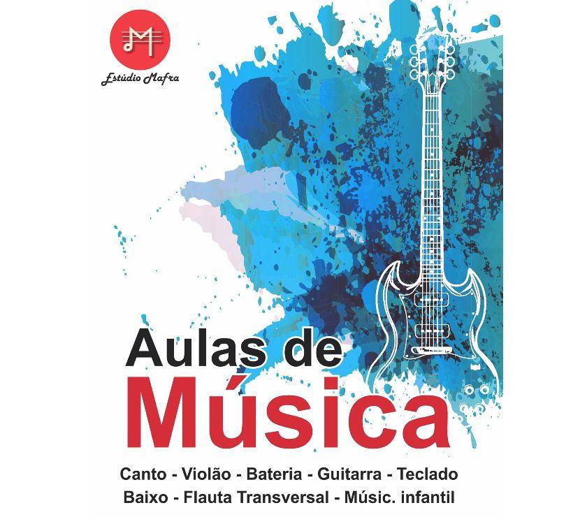 Aulas de música em Bertioga; Violão, bateria, Canto, etc.