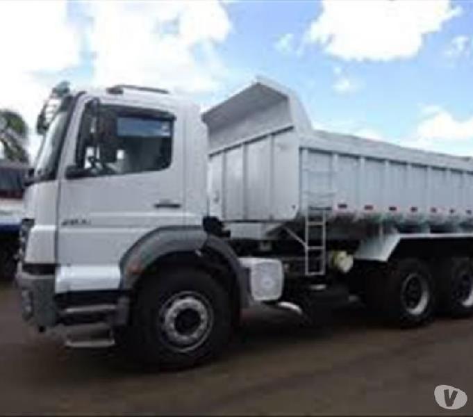 Caminhão MB Axor 2831 6x4 - 2012 trucado caçamba,